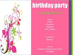 make birthday invitation cards online for free printable