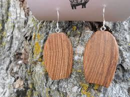 eco earrings 17 best wooden earrings images on wooden earrings