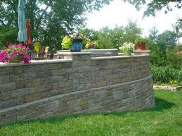 Retaining Wall Patio Raised Patio Design Ideas Retaining Walls