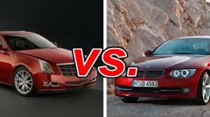 cadillac cts v competitors cadillac cts vs bmw 328 carsdirect