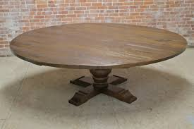 84 round dining table large rustic round dining table rustic solid wood large round dining
