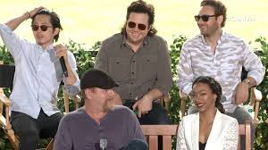 new walking dead cast 2016 the walking dead cast on season 7 that tiger and more nerdist