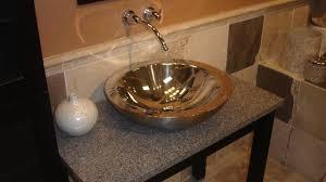Diy Bathroom Vanity Top Diy Bathroom Vanity With Vessel Sink Youtube