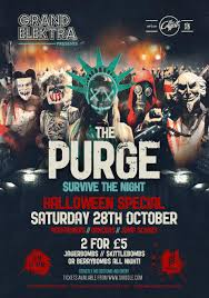 halloween purge the purge halloween special survive the night tickets grand