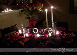 anniversary in the kitchen romantic dinner tables romantic