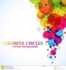 imagenes abstractas con circulos círculos abstractos del espectro ilustración del vector