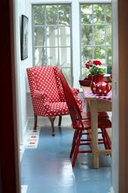 Simple Dining Room With Polished Black Carliste Patio Dinette by Best 25 Red Dining Chairs Ideas On Pinterest Polka Dot Chair