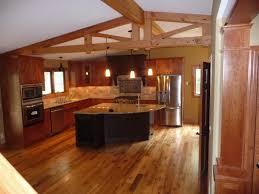 how to level kitchen base cabinets steven dona architecture split level kitchen remodel before and