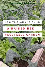 Starting An Organic Vegetable Garden by The Raised Bed Vegetable Garden