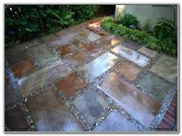 staining concrete patio stones patios home furniture ideas