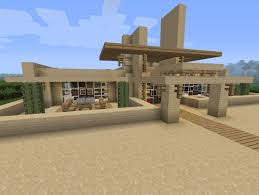 7 modern desert home minecraft project house blueprints bold