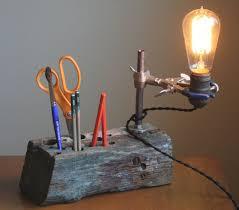 Desk Organizer Lamp Best 25 Industrial Desk Accessories Ideas On Pinterest Desk