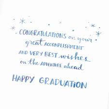 starry mountains graduation card