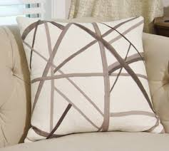 kelly wearstler channels pillow cover taupe ivory brown
