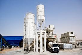 concrete batching plant cement silo pugmill gpe group