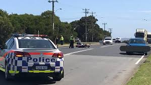 perth motorcyclist dies after crash in albany