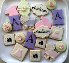 cookies for girls pink baby shower sugar cookies royal icing