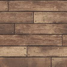 wood wallpaper brewster home fashions essentials weathered nailhead plank 33 x