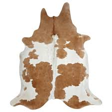 White Skin Rug Decor Make Your Floor More Cozy With Charming Cow Skin Rug For