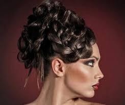 Hochsteckfrisuren Mittellange Haar Einfach by Frauenfrisuren Hochsteckfrisuren Hochsteckfrisur Mittellange Haare