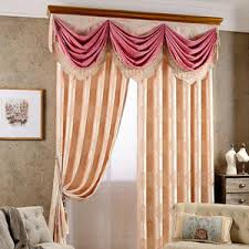 Shabby Chic Floral Curtains by Red Floral Jacquard Polyester Shabby Chic Curtains For Bedroom