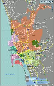 San Diego City Map by San Diego U2013 Travel Guide At Wikivoyage
