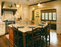 Island Chairs For Kitchen Cool Kitchen Island Table Ideas With Pendant Lamps And Wooden