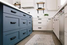 what hardware looks best on black cabinets how changing one thing can change everything in kitchens and