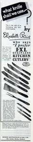 Kitchen Knives Guide by George Wostenholm And Son Graces Guide