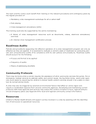 crisis management guidelines final 10 31 2007
