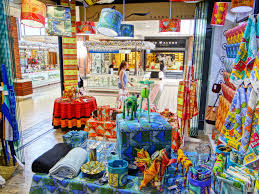 v u0026a waterfront store carole nevin designs