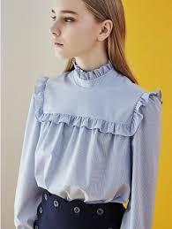 high neck ruffle blouse debb square ruffle high neck blouse