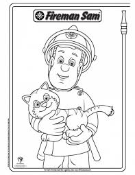 fireman coloring pages perfect fireman sam coloring pages