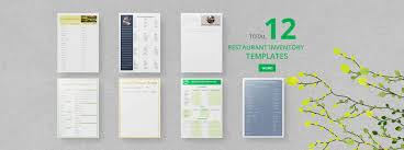 restaurant inventory template 22 free word excel documents