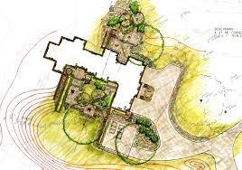 beautiful landscape architecture plan design home design ideas