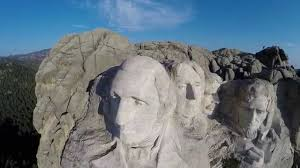 mt rushmore mt rushmore from the air youtube