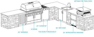 outdoor kitchen plans kalamazoo outdoor gourmet