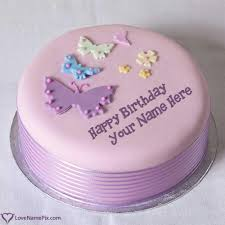 best birthday cakes with name generator online