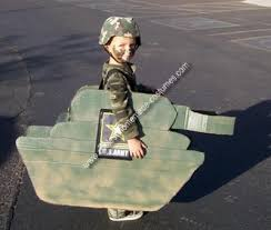 Army Guy Halloween Costume Homemade Army Man Tank Costume Halloween Costumes