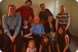 family christmas 1960s style rosalilium