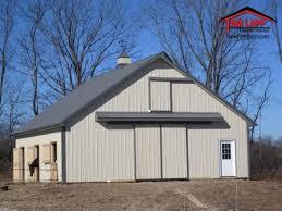 Pole Barn Roofing Flynn Horse Barn Pole Barn Building Tam Lapp Construction Llc