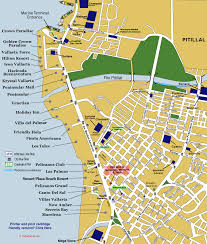 Guadalajara Mexico Map by Puerto Vallarta Hotel Zone Map Puerto Vallarta Pinterest