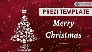 christmas ecard prezi template prezibase