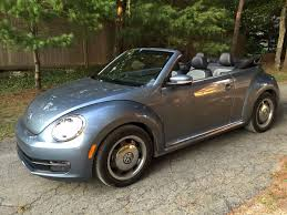 volkswagen beetle convertible on the road review vw beetle denim convertible the ellsworth