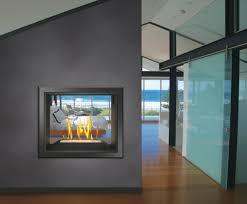 stylish see through fireplaces patio u0026 hearth blog