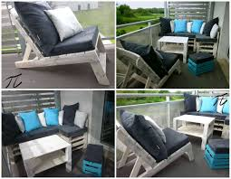 Pallet Furniture Living Room Upcycled Pallet Terrace Design U2022 1001 Pallets