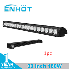 30 led light bar combo enhot 30 inch 180w cree led chip light bar combo beam 30inch car led