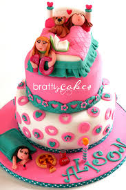 party cake slumber party cake this was my request for a slumber flickr