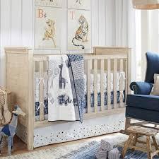 Organic Crib Bedding by Organic Lawson Nursery Bedding Pottery From Pottery Barn Kids