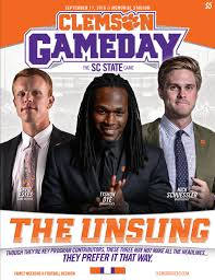 home depot black friday ad 2016 29678 clemson football 2016 sc state gameday program by clemson
